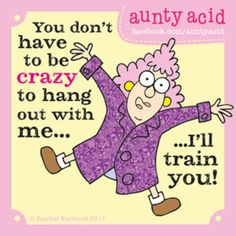 Aunty Acid for 6/26/2017