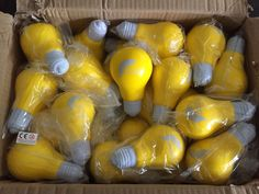 Stress Light Bulb. Bright idea anyone? Promote an ideas scheme with this great shaped item!