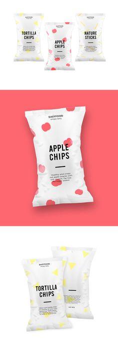 Concept: EasyFood Packaging — The Dieline - Branding & Packaging