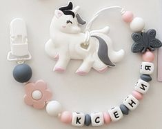 Food grade silicone accessories for babies and by EcoBabyBeads Baby Presents, Baby Gifts, Diy Teething Toys, Pacifier Clip Tutorial, Baby Shower Crafts, Baby Doll Toys, Baby Necklace, Baby Sensory, Baby Teethers