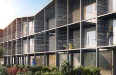 55 Logements Nantes - Tank Architectes
