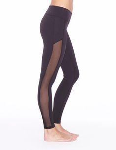 4aca48bfa9e40 Crystal Mesh Long Legging by Beyond Yoga Yoga Leggings, Workout Leggings,  Mesh, Crystals