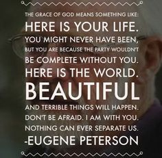 18 Best Eugene Peterson Quotes images in 2015 | Eugene peterson