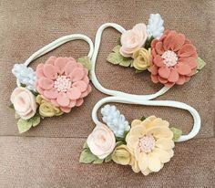 Для девочек,в чьем гардеробе не только розовый Повязки с хризантемой и маленькими розами