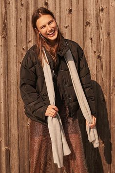 Silence + Noise Classic Puffer Jacket