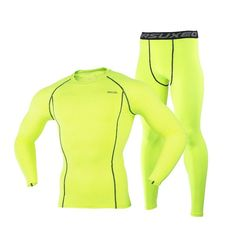 19ebd384b3fba Men Winter Ski Jacket and Pants Quick Dry Thermal Skiing Underwear Set Men  For Ski/Riding/Climbing/Cycling Size M to 3XL