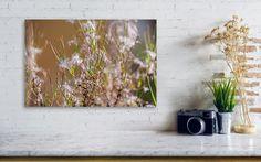 Abstraction, Autumn Grass ... Canvas Print / Canvas Art by Anna Matveeva