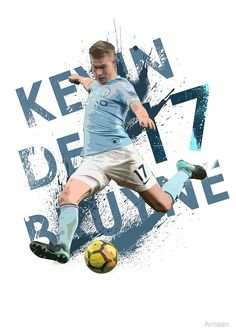 'KDB - Kevin De Bruyne - Manchester City FC' by Armaan - Source by lottegreenleaf Football Is Life, Football Art, Manchester City Wallpaper, Zen, Huddersfield Town, Football Wallpaper, Football Pictures, Neymar Jr, Arsenal Fc