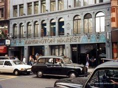 The wonderful old Kensington Market in London, a favourite teenage haunt of mine, amazing place just to hang out, sadly no longer there Vintage London, Old London, West London, Vintage Shops, Kensington And Chelsea, Kensington London, Camden Palace, Swinging London, London Life