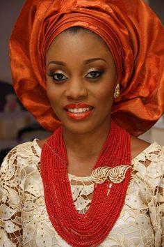 Yoruba Wedding Attire.