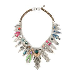 Shourouk Necklace.     Great to put a nice, colorful, sparkly twist to your outfit.