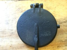 Griswold Cast Iron Pizzelle Waffle Iron Paddles | eBay $55.00