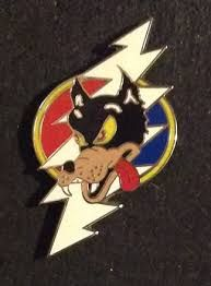 34684bc4c96 Grateful Dead - Lightning Bolt Wolf Pin-Grateful Dead - Lightning Bolt Wolf  Pin This Grateful Dead collectible hat pin has a 13 point lightning bolt  and the ...