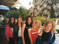 Friday night out with the girls like.. 💁🏻😆 OH WOW you guys this is us age 12/13 fresh after makeovers. Little divas indeed... love that Sophia was punk rock and dressed in all black for years but we still got girly. Growing up we spent our summer vacations in California together. Looking through old pics is how I'm spending this Friday night. #gettoknowus  • • #soula #souladesignco #bohorock #bohorocker #bohorockchic #90skids #girlstrips #capitolabeach #bestfriends #gettoknowus