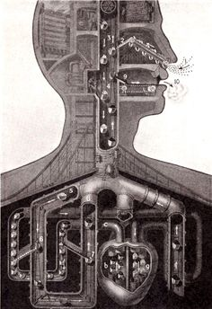 author: Fritz Kahn. The body as machine.