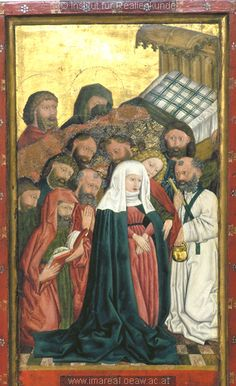Death of the Virgin, 1456, Master of the Albrecht Altar, Vienna