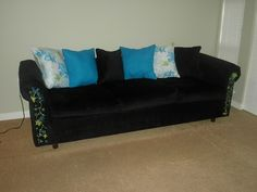 I have a couch that needs to be re-upholstered too.  If it looks like this when I'm done I will be super happy.