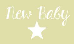 New Baby cajas de bienvenida personalizadas
