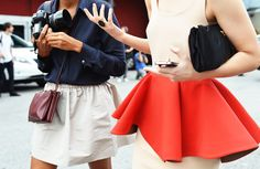 seeing red-street style