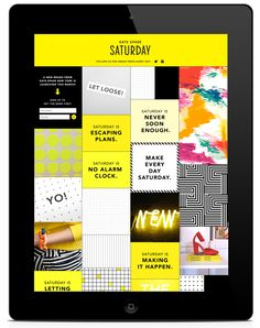 Allison Henry Aver — Kate Spade Saturday Launch Campaign