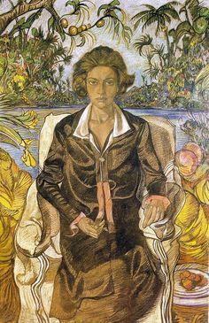 Stanisław Ignacy Witkiewicz –  portret Jadwigi Witkiewiczowej (z 1925)