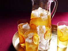 Cider Punch : Served up warm or on the rocks with either brandy or bourbon, this apple cider punch easily allows for personalization.
