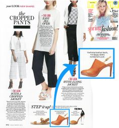 "Via Spiga's ""Benny"" sling-back mule, as seen in @InStyle Magazine #mules #viaspiga #instyle"
