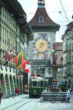 Zytglogge Clock, Bern, Switzerland