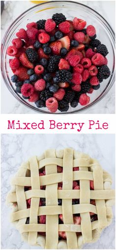 A classic summer mixed berry pie recipe with juicy berries wrapped in a flaky buttery crust. ~ http://blahnikbaker.com