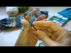 Socken mit verkürzten Reihen stricken - Teil 6 - YouTube
