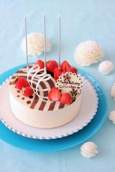 「バースデーバニラムース♪」あいりおー | お菓子・パンのレシピや作り方【corecle*コレクル】