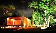 Arq contemporánea paraguaya - Vista nocturna, vivienda Talavera