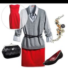 Cute outfit for work in the Spring.