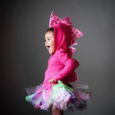 Pink dinosaur hoodie / girl dinosaur costume / dinosaur birthday party / Halloween costume / toddler dino hoodie / girl dinosaur shirt Toddler Dinosaur Costume, Dinosaur Halloween Costume, Halloween Costumes For Girls, Dinasour Birthday, Girl Dinosaur Birthday, Girl Birthday, Birthday Bash, Birthday Ideas, Birthday Parties