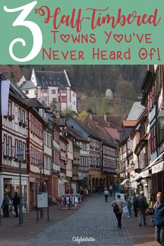 I'm just gonna say this right now, and if you're a regular reader, you already know what I'm about to say! … I've done it again! I've found more adorable, picturesque, quaint and charming half-timbered towns. And no, not just one, but 3!!! And if you're a regular reader or at least follow me […]