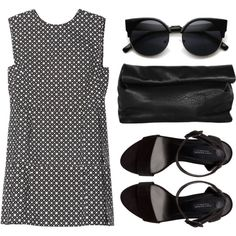 """The rest will follow"" by louisesuxx on Polyvore: Vintage Inspired Round Circle Cat Eye Sunglasses 8785"