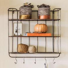 Granville Metal Shelf Unit - Storage - Furniture - Furniture