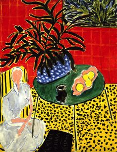 dappledwithshadow: Henri MatisseThe Black Fern1948