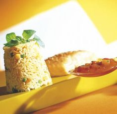 Provençaalse zalmpakketjes met risotto