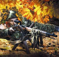 Russian sniper Turkish War Of Independence, Army Drawing, Ww2 Pictures, Soviet Art, A Level Art, Red Army, American War, Military Art, Art World