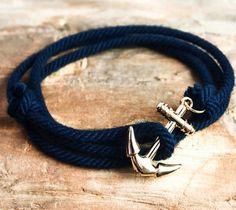 Nautical Anchor Bracelet – $19