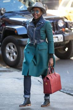 Lupita Nyong'o Photos - Lupita Nyong'o Arrives at The Public Theatre - Zimbio