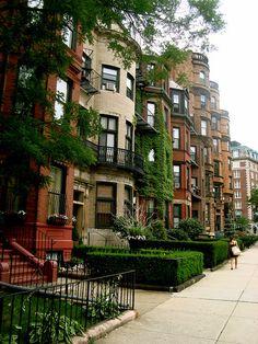 Brownstones, Boston, Massachusetts
