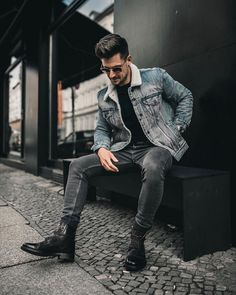 """2,665 mentions J'aime, 20 commentaires - Mensfashion ▪️Street ▪️Style (@mensfashion_guide) sur Instagram : """"Yes or No? Via @gentwithstreetstyle Follow @mensfashion_guide for more! By @nicohe18…"""""""
