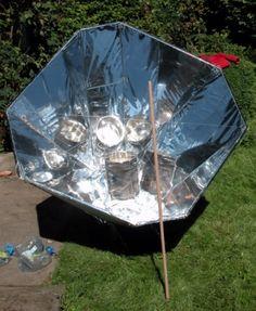 Four solaire de 1400 watts à réaliser soi - même