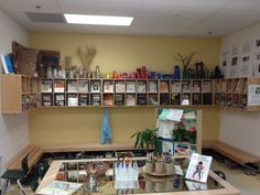 Colored bottles reggio emilia classroom | Transforming our Learning Environment into a Space of Possibilities ...