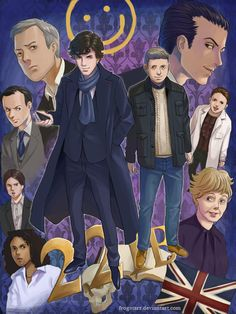 Sherlock! by frogstarr.deviantart.com on @deviantART <<Thats absolutely AMAZING! Why i havent seen this fanart before?