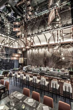 AMMO Restaurant, Hong Kong by Joyce Wang Architects