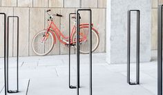 Navigation bollard by out-sider Street Furniture, Modern Architecture, Wardrobe Rack, Furniture Design, Cityscapes, Park, Storage, Bicycles, Inspiration