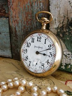 Illinois Pocket Watch-Love These old pocket watches